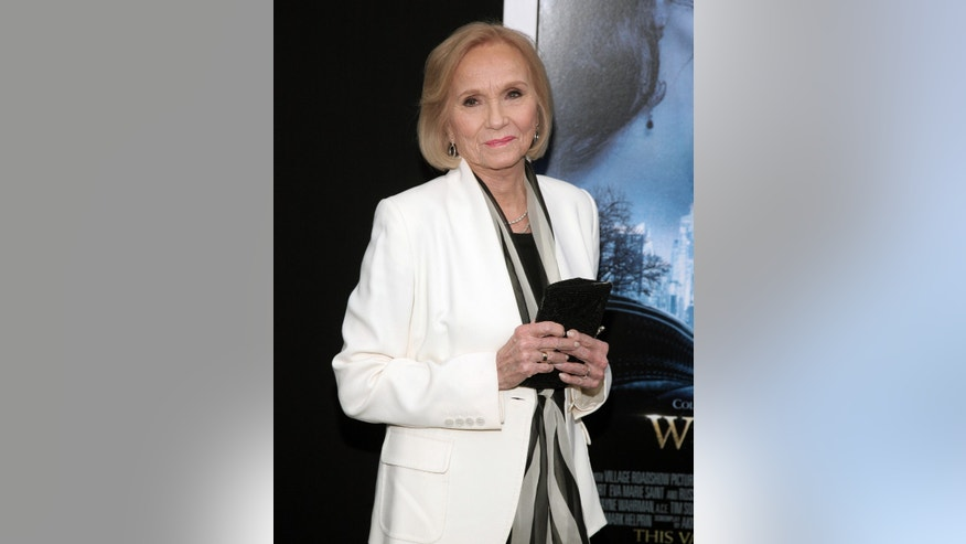 "Feb. 11, 2014. Eva Marie Saint attends the world premiere of ""Winter's Tale"" in New York."