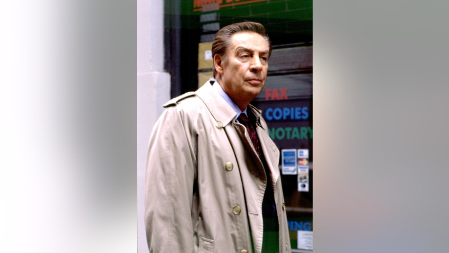 "Jerry Orbach of NBC's ""Law and Order"" in an undated photo."
