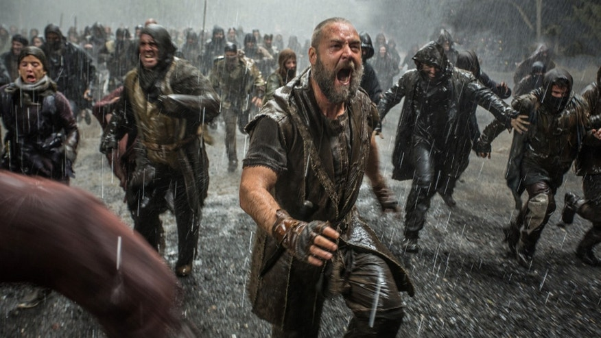 "Russell Crowe in a scene from ""Noah."""