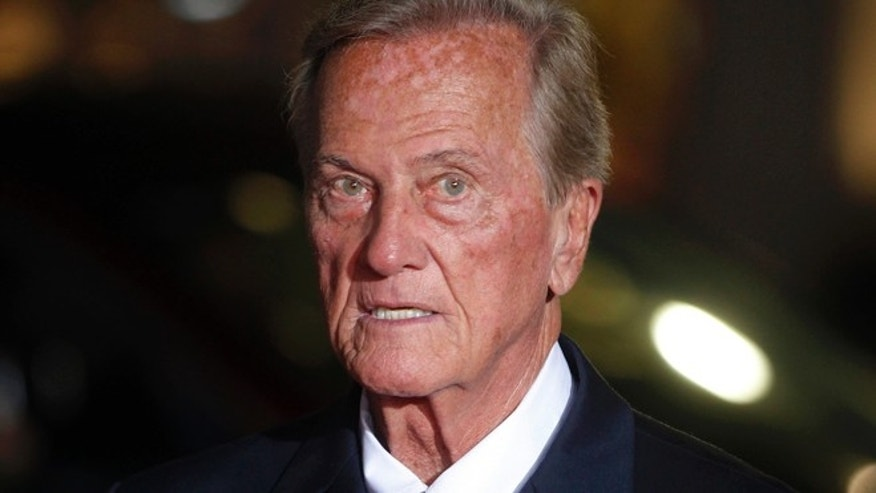 "Singer Pat Boone arrives as a guest for a screening in honor of the ""West Side Story: 50th Anniversary Edition"" Blu-ray release in Hollywood, California November 15, 2011. The film won 10 Academy Awards in 1962, including best supporting actor and actress awards for George Chakiris and Rita Moreno and for best picture. REUTERS/Fred Prouser (UNITED STATES - Tags: ENTERTAINMENT HEADSHOT ANNIVERSARY) - RTR2U2RW"
