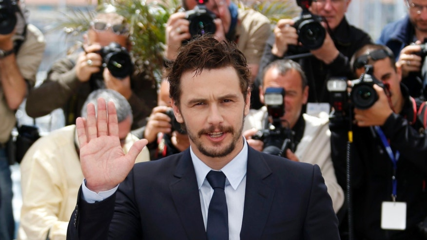"Director and actor James Franco poses during a photocall for the film ""As I Lay Dying"" at the 66th Cannes Film Festival in Cannes May 20, 2013."