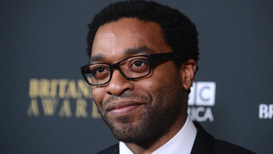 November 9, 2013. Actor Chiwetel Ejiofor attends the BAFTA Los Angeles Britannia Awards in Beverly Hills, California.