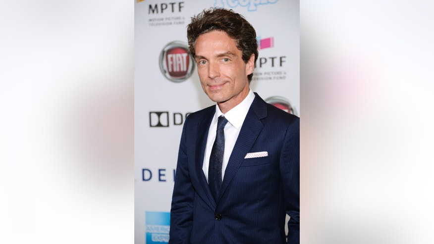 "October 12, 2013. Musician Richard Marx attends the performance of the one-man-show ""One Night Only"" benefiting the Motion Picture and Television Fund in Los Angeles."