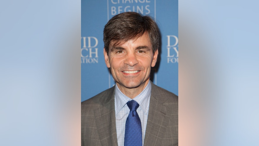 "Television journalist George Stephanopoulos attends the ""Change Begins Within: An Historic Night of Jazz to benefit The David Lynch Foundation"" event in New York December 13, 2012."