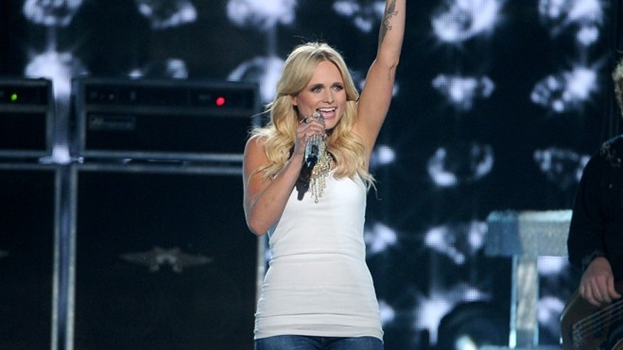 Apr. 6, 2014: Miranda Lambert performs on stage at the 49th annual Academy of Country Music Awards at the MGM Grand Garden Arena in Las Vegas.