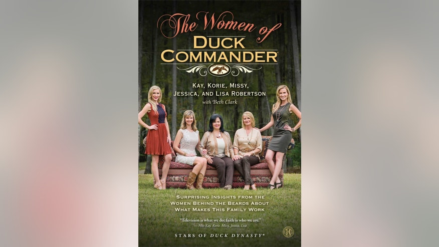 Jessica, Missy, Miss Kay, Lisa and Korie Robertson appear on the cover of their book.