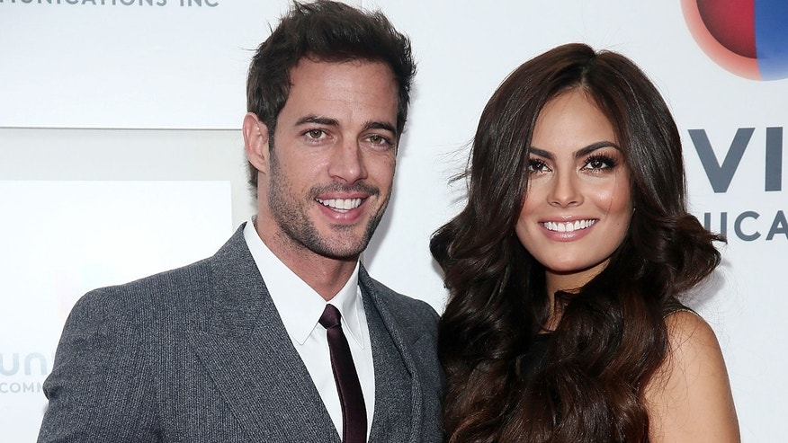 "NEW YORK, NY - MAY 14:  (L-R) William Levy and Jimena ""Ximena"" Navarrete attend the  2013 Univision Upfront Presentation at Espace on May 14, 2013 in New York City.  (Photo by Astrid Stawiarz/Getty Images)"