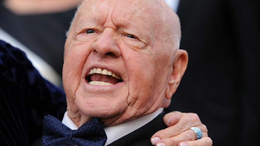 March 7, 2010. Mickey Rooney at the 82nd Academy Awards.