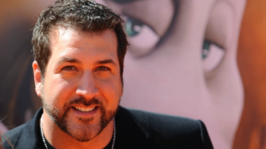 "March 8, 2008. Joey Fatone attends the premiere of the film ""Horton Hears a Who!"" in Los Angeles."