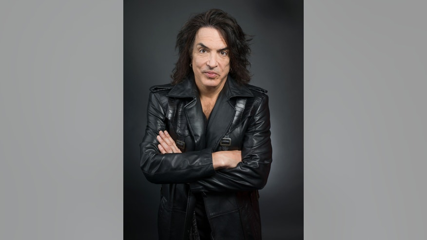 "This April 7, 2014. Paul Stanley in New York. Stanley released a memoir, ""Face The Music:  a Life Exposed,"" this month."