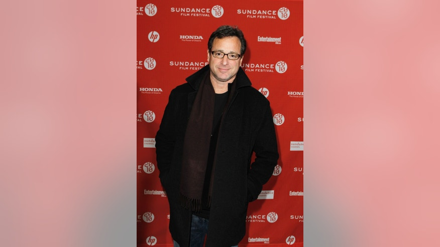 January 23, 2010. Bob Saget at the Sundance Film Festival in Utah.