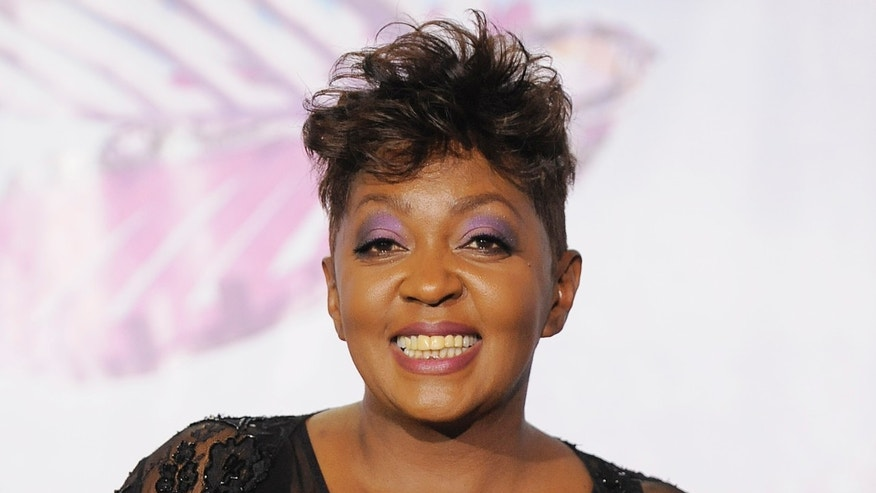 June 26, 2011. Anita Baker backstage at the BET Awards in Los Angeles.