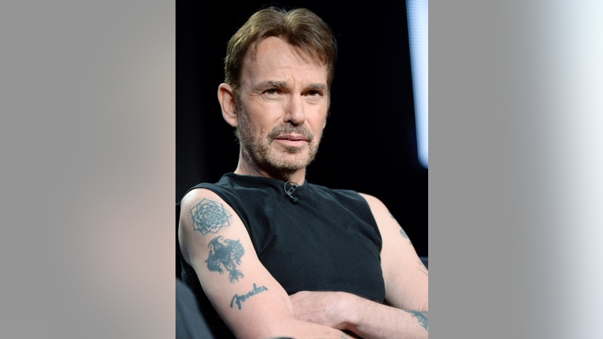 "Cast member Billy Bob Thornton of ""Fargo"" participates in a panel during FX Networks' part of the Television Critics Association Winter 2014 presentations in Pasadena, California, Jan. 14, 2014."