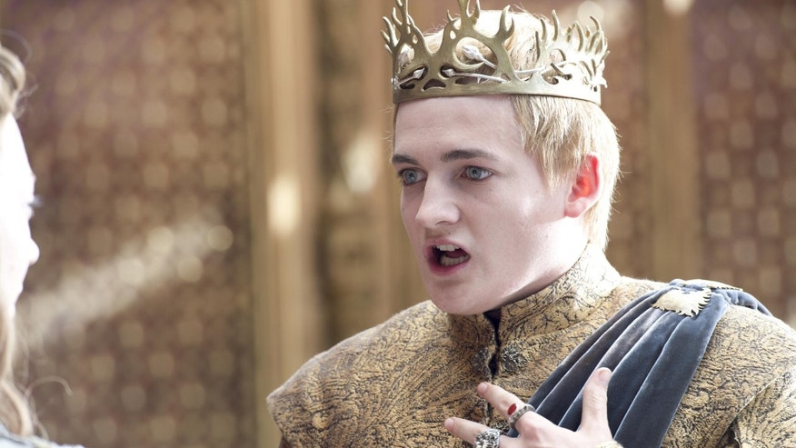 "Jack Gleeson is shown on HBO's ""Game of Thrones."""