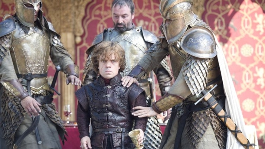 Tyrion Lannister (Peter Dinklage) is taken captive on 'Game of Thrones' (HBO)