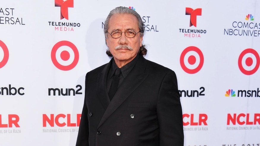 Edward James Olmos on September 27, 2013 in Pasadena, California.