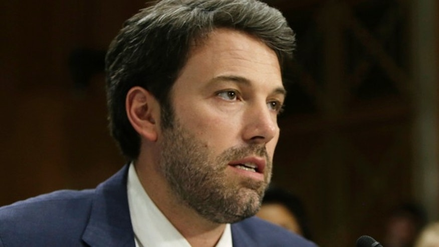 Feb. 26, 2014: Actor, writer and director Ben Affleck testifies before the Senate Foreign Relations Committee on Capitol Hill in Washington. (Reuters)