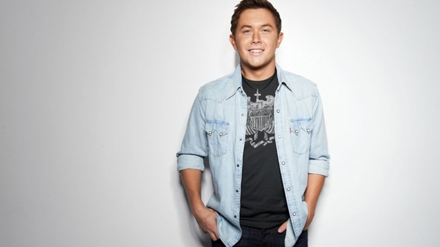 Country singer Scotty McCreery.