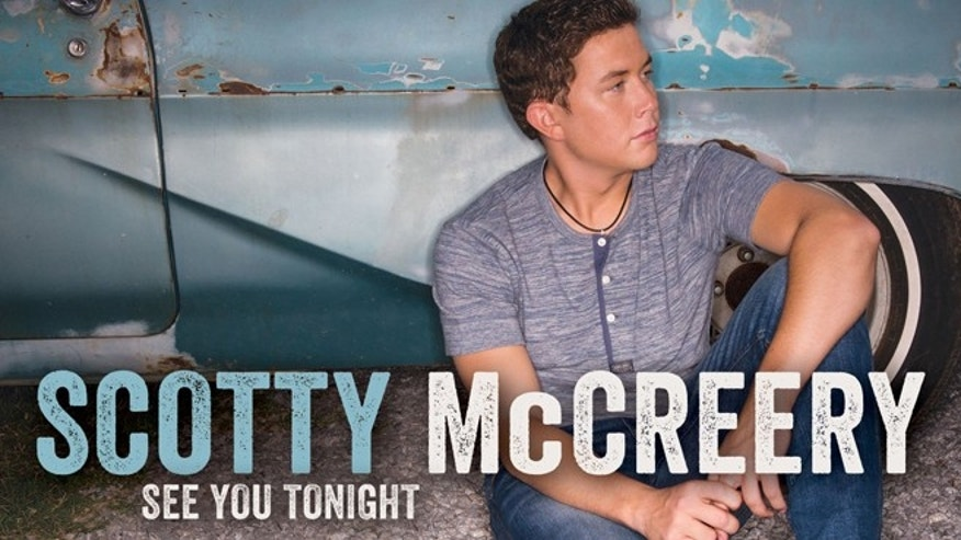 "The album artwork for Scotty McCreery's new cd, ""See You Tonight."""