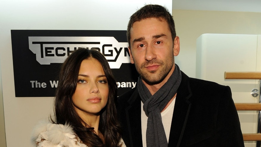 NEW YORK - NOVEMBER 16:  Model Adriana Lima and Marko Jaric attend the U.S. launch for Technogym at the Technogym Showroom on November 16, 2010 in New York City.  (Photo by Bryan Bedder/Getty Images for Technogym USA Corp)