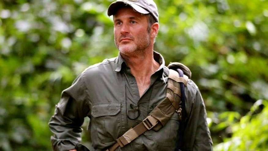 "Former Navy SEAL Joel Lambert appears in Discovery's ""Lone Target."""