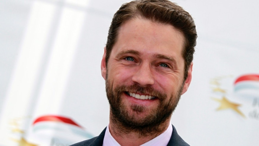 June 7, 2011. Actor Jason Priestley poses during a photocall at the 51st Monte Carlo television festival in Monaco.