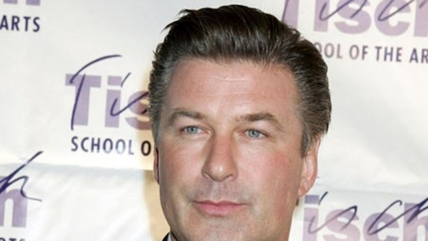 "**FILE** Alec Baldwin attends the New York University Tisch School of the Arts gala benefit, in this file photo from  Oct. 28, 2005, in New York. Baldwin wants to be removed as narrator of an Arnold Schwarzenegger documentary called ""Running with Arnold,"" saying filmmakers went too far by including images of Nazi rallies. (AP Photo/Diane Bondareff-File)"