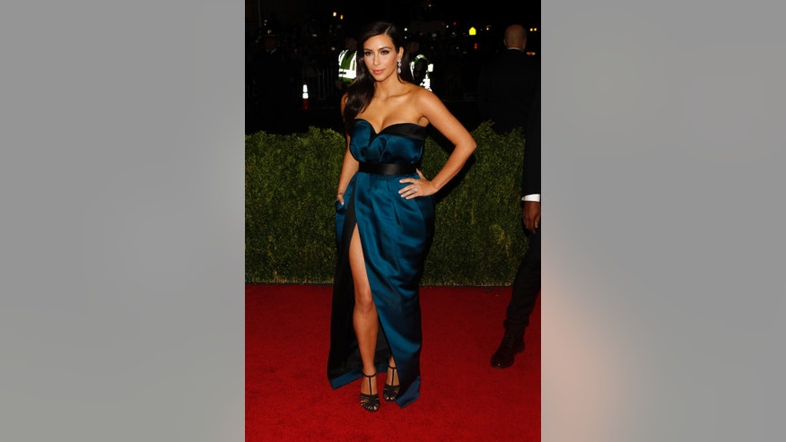 May 5, 2014. Kim Kardashian arrives at the Metropolitan Museum of Art Costume Institute Gala Benefit in New York.