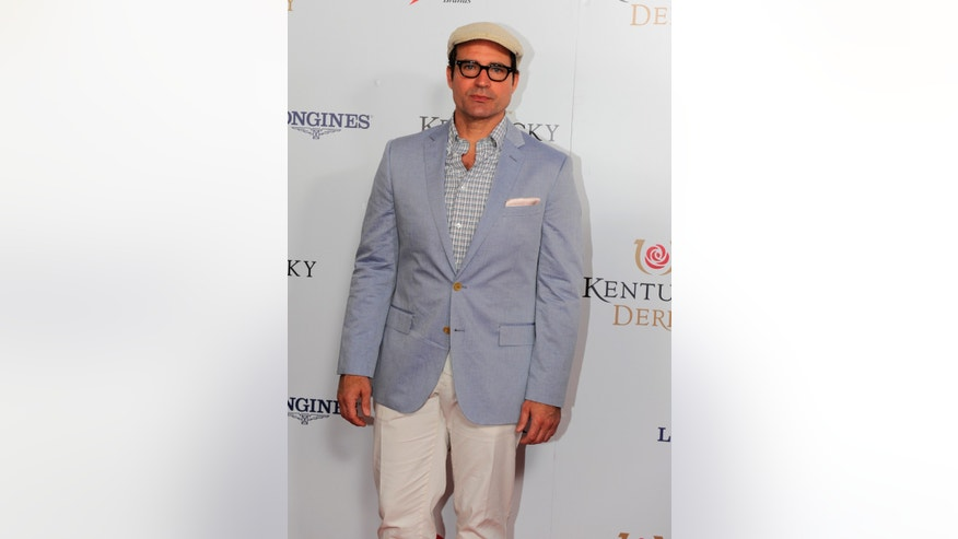 May 3, 2014. Jason Patric is photographed at the 140th Kentucky Derby  in Louisville Ky.
