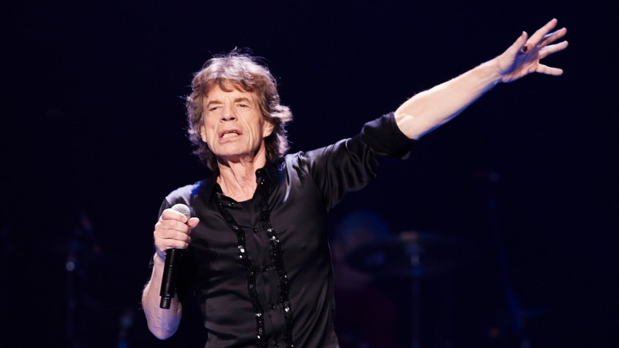 May 28, 2013. Mick Jagger of the Rolling Stones performs at a concert  in Chicago.