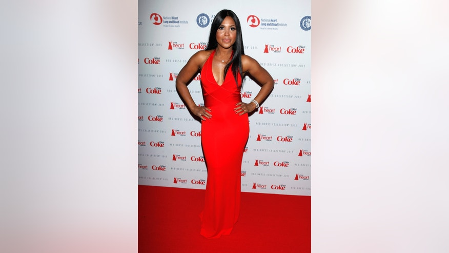 February 6, 2013. Singer Toni Braxton arrives before the The Heart Truth's Red Dress Collection fashion show in New York.
