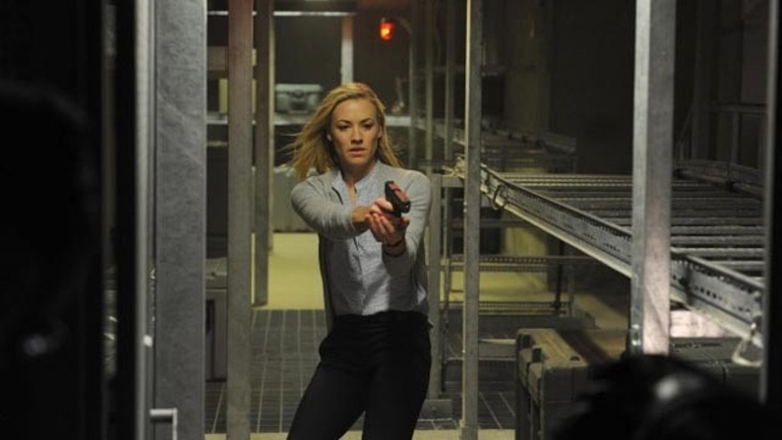 Morgan On A Mission: Yvonne Strahovski as Kate Morgan on '24' (FOX)