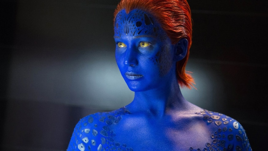 "Jennifer Lawrence in ""X-Men: Days of Future Past."""