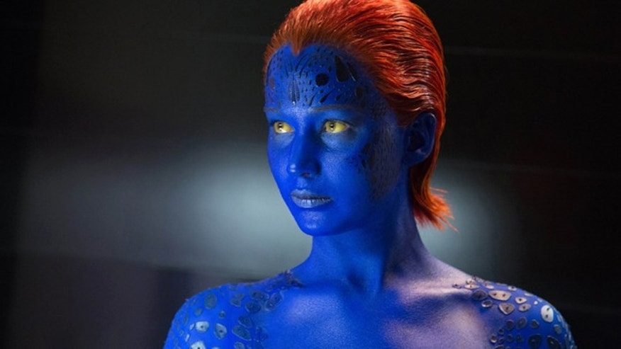 "This image released by 20th Century Fox shows Jennifer Lawrence in ""X-Men: Days of Future Past."" (AP Photo/20th Century Fox, Alan Markfield)"