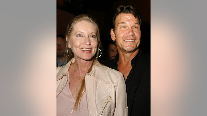 "October 24, 2007. Actor Patrick Swayze and his wife Lisa Niemi pose as they arrive at the party following the premiere of the comedy film ""Dan in Real Life"" in Hollywood, California."