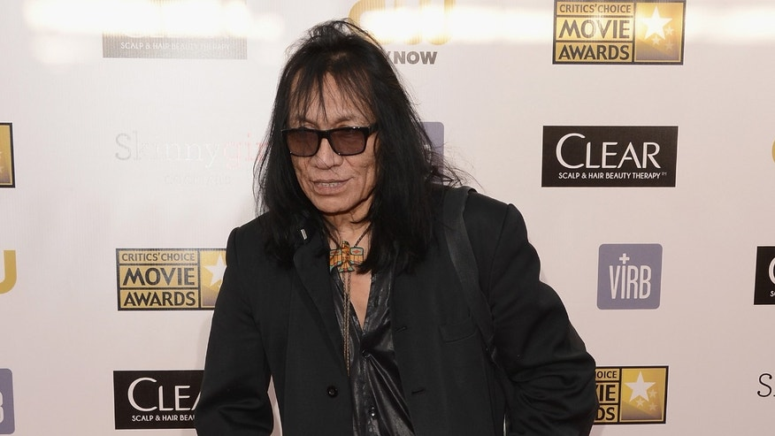 SANTA MONICA, CA - JANUARY 10:  Musician Sixto Rodriguez arrives at the 18th Annual Critics' Choice Movie Awards held at Barker Hangar on January 10, 2013 in Santa Monica, California.  (Photo by Jason Merritt/Getty Images)