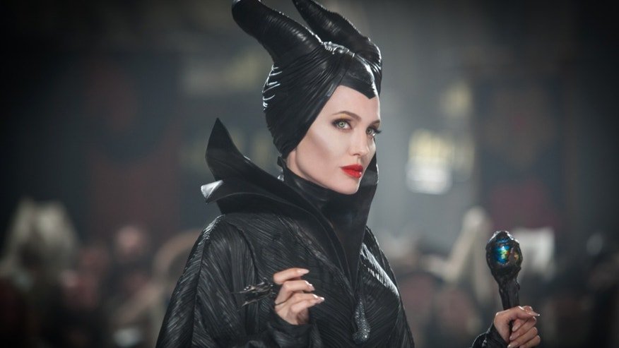 "Angelina Jolie in a scene from the film, ""Maleficent."""