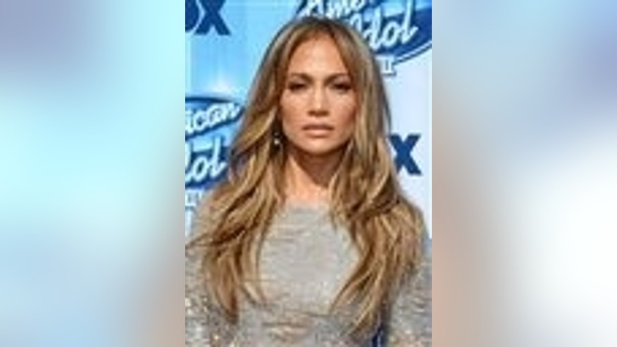 Jennifer Lopez arrives at the American Idol XIII finale at the Nokia Theatre at L.A. Live on Wednesday, May 21, 2014, in Los Angeles. (Photo by Jordan Strauss/Invision/AP)