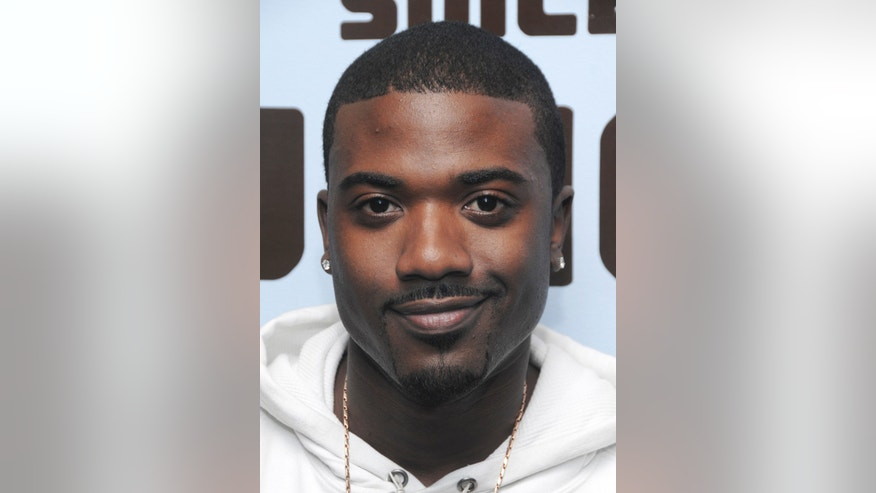 April 8, 2008. Singer Ray J at MTV Studio's in Times Square.