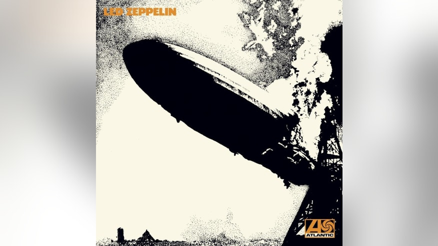 "This image released by Atlantic Catalog Group shows cover art for ""Led Zeppelin.""  (AP Photo/Atlantic Catalog Group)"