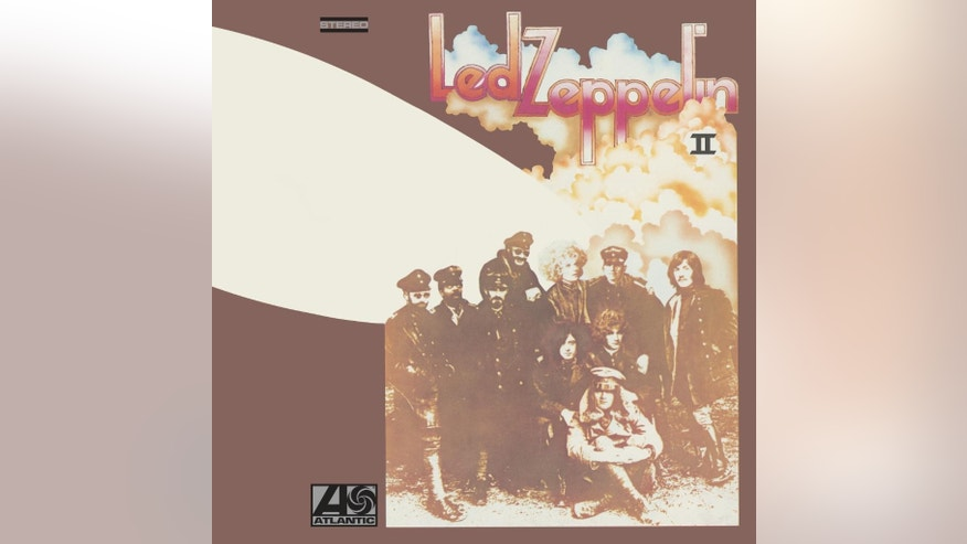 "This image released by Atlantic Catalog Group shows cover art for ""Led Zeppelin II.""  (AP Photo/Atlantic Catalog Group)"