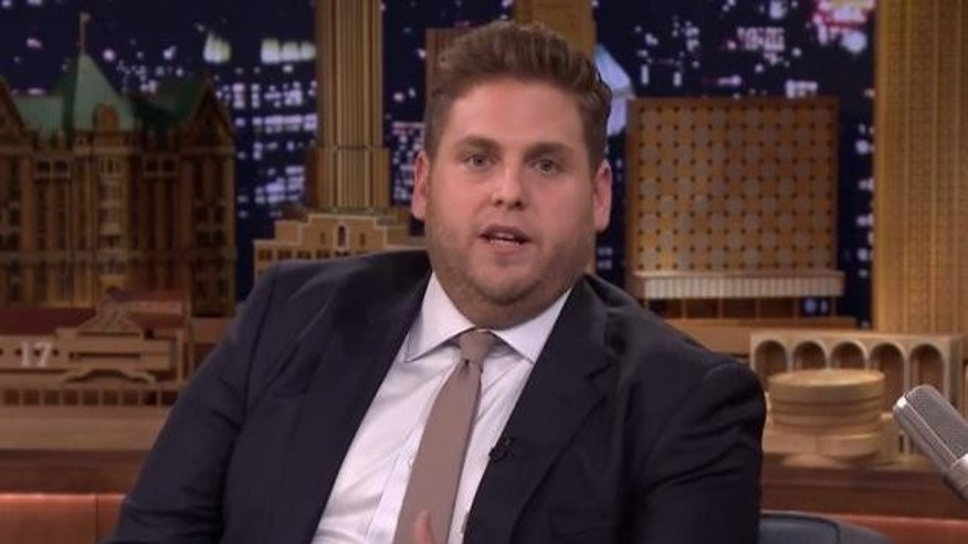 Jonah Hill on Jimmy Fallon