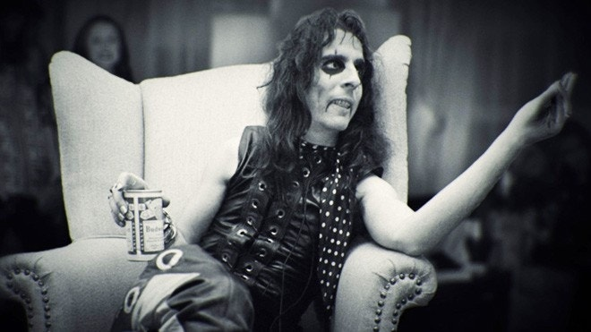 Alice Cooper 'was throwing up blood' before he conquered his demons