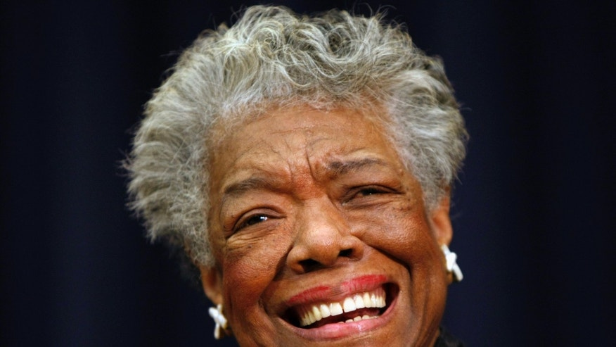 Nov. 21, 2008. Maya Angelou smiling in Washington.