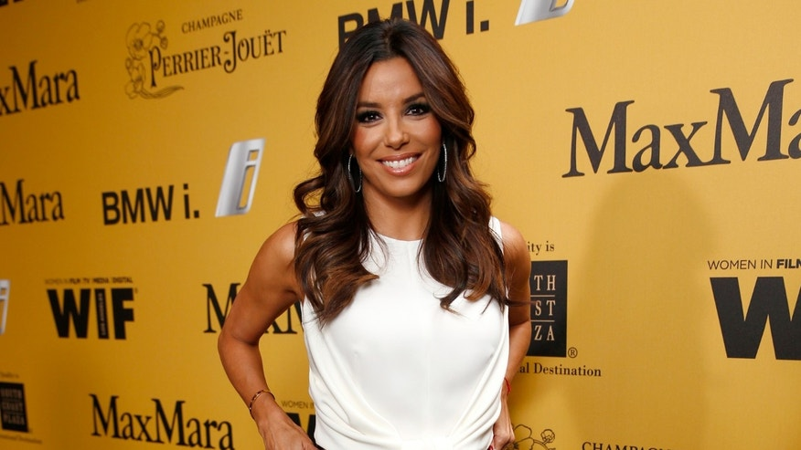 Eva Longoria attends Women In Film 2014 Crystal + Lucy Awards on June 11, 2014 in Los Angeles, California.