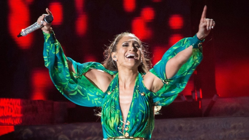 Jennifer Lopez performs at Orchard Beach on June 4, 2014 in Bronx, New York.