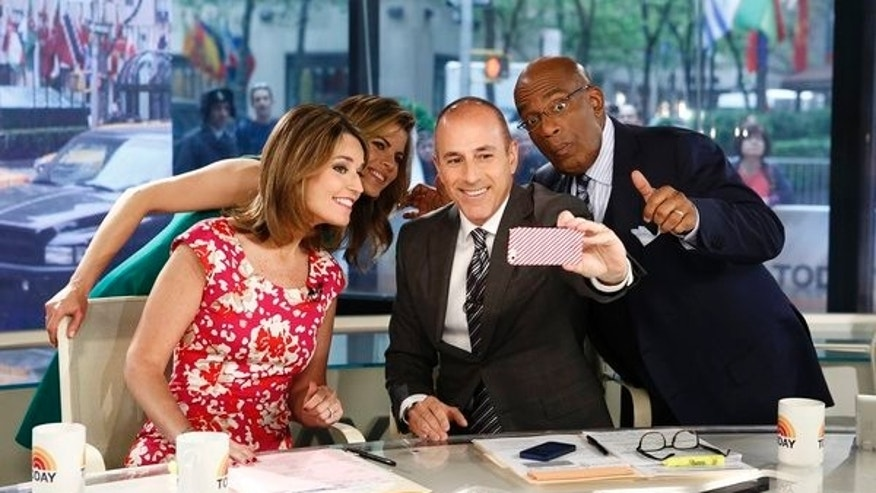 "Savannah Guthrie, Natalie Morales, Matt Lauer and Al Roker appear on NBC News' ""Today"" show"