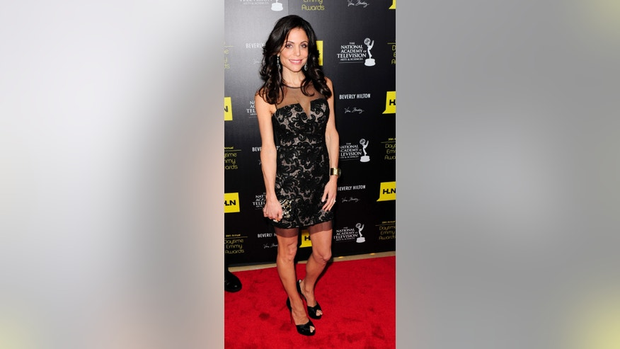 June 23, 2012. Television personality Bethenny Frankel arrives at the 39th Daytime Emmy Awards in Beverly Hills, California.