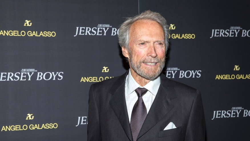 "June 9, 2014. Clint Eastwood attends the premiere of ""Jersey Boys"" in New York."