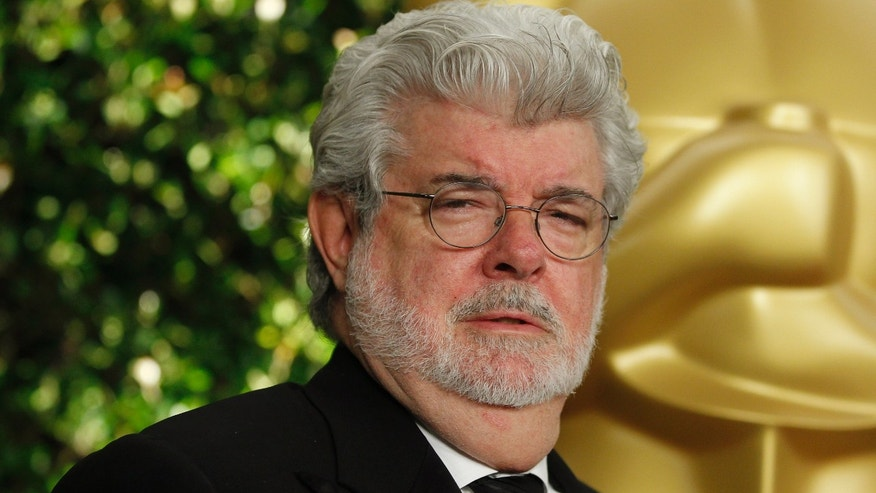 December 1, 2012. Filmmaker George Lucas arrives at the Academy of Motion Picture Arts & Sciences 4th annual Governors Awards in Hollywood.